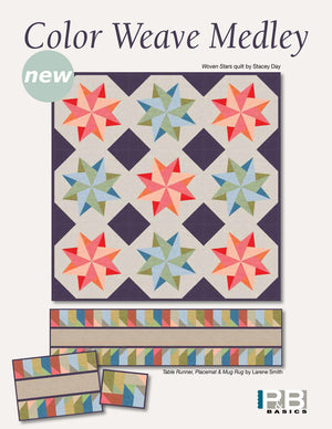 Woven Star<br>by: Stacey Day<br>Color Weave Medley