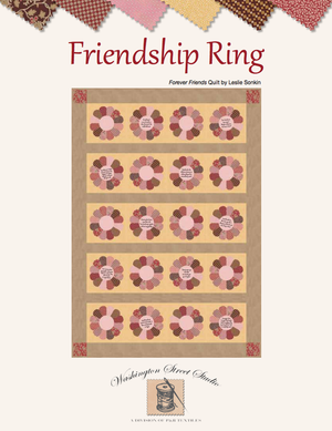 Friends Forever Quilt<br>by Leslie Sonkin<br>Friendship Ring