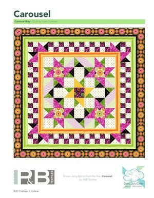 Carnival Ride Quilt Pattern<br>by Kate Colleran<br>Carousel