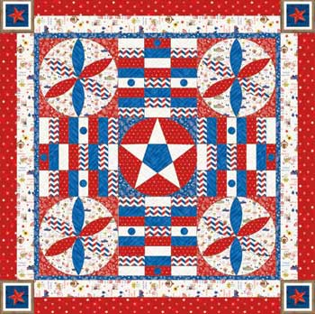 Sweet Land of Liberty Game Board<br>by Debby Kratovil<br>SWEET LAND OF LIBERTY