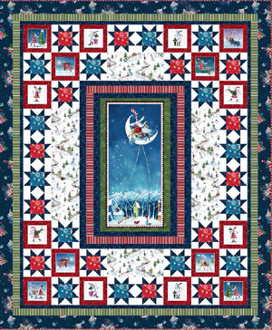Merry Stars<br>by Nancy Mahoney<br>Merriment