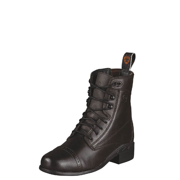 Ariat® Kids' Performer III Lace Boot, Chocolate