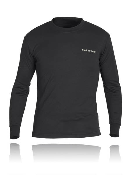 Back on Track Long Sleeve T Shirt PolyProp, Double - BOT-TSLSPP2