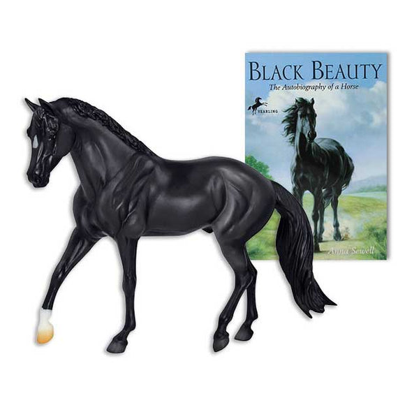 Breyer Black Beauty and Book Set
