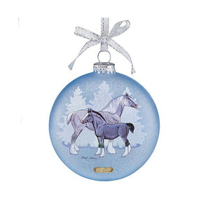 Breyer® 2017 Draft Horses Artist Signature Ornament