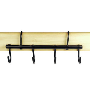 Portable Tack Bar with 4 hooks