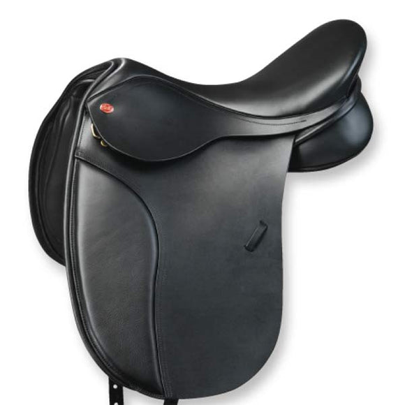 Kent & Masters Movable Block Dressage Saddle - H-KMDMB