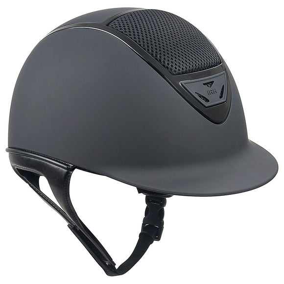 IRH IR4G XLT Matte Black with Gloss Vent Helmet