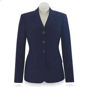 R.J. Classic Essential Washable Show Coat, Navy
