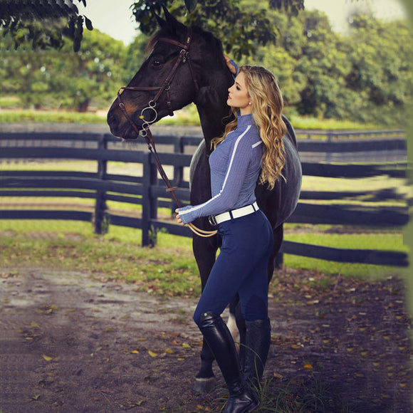 R.J. Classics Gulf Low Rise Breech, Navy