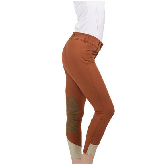 R.J. Classics Gulf Low Rise Breech, Rust