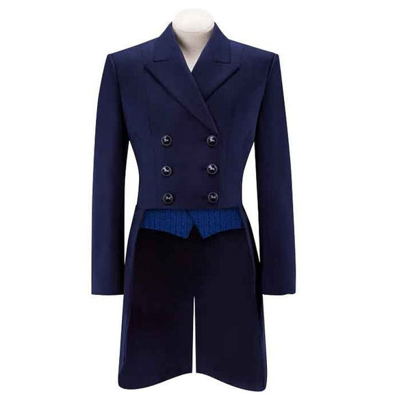 R.J. Classics Renvers Dressage Shadbelly, Navy