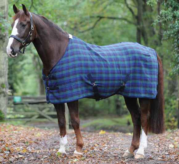 Weatherbeeta Blackwatch Plaid Cotton Sheet