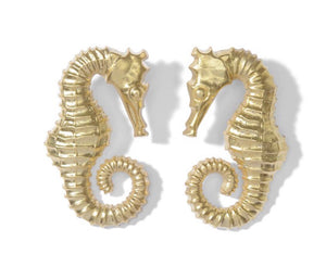 24kt gold Seahorses