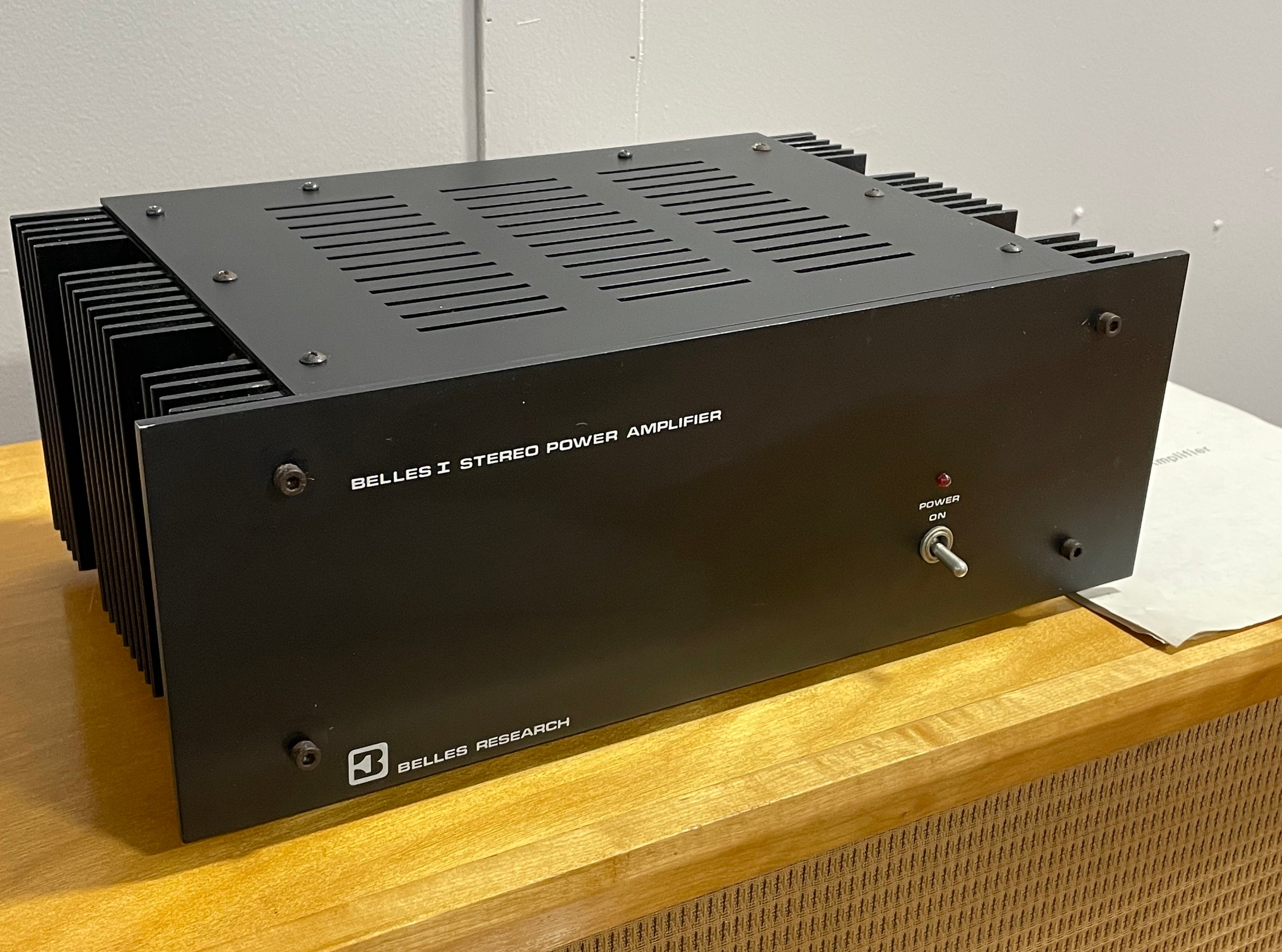 Belles Model One Vintage Power Amplifier