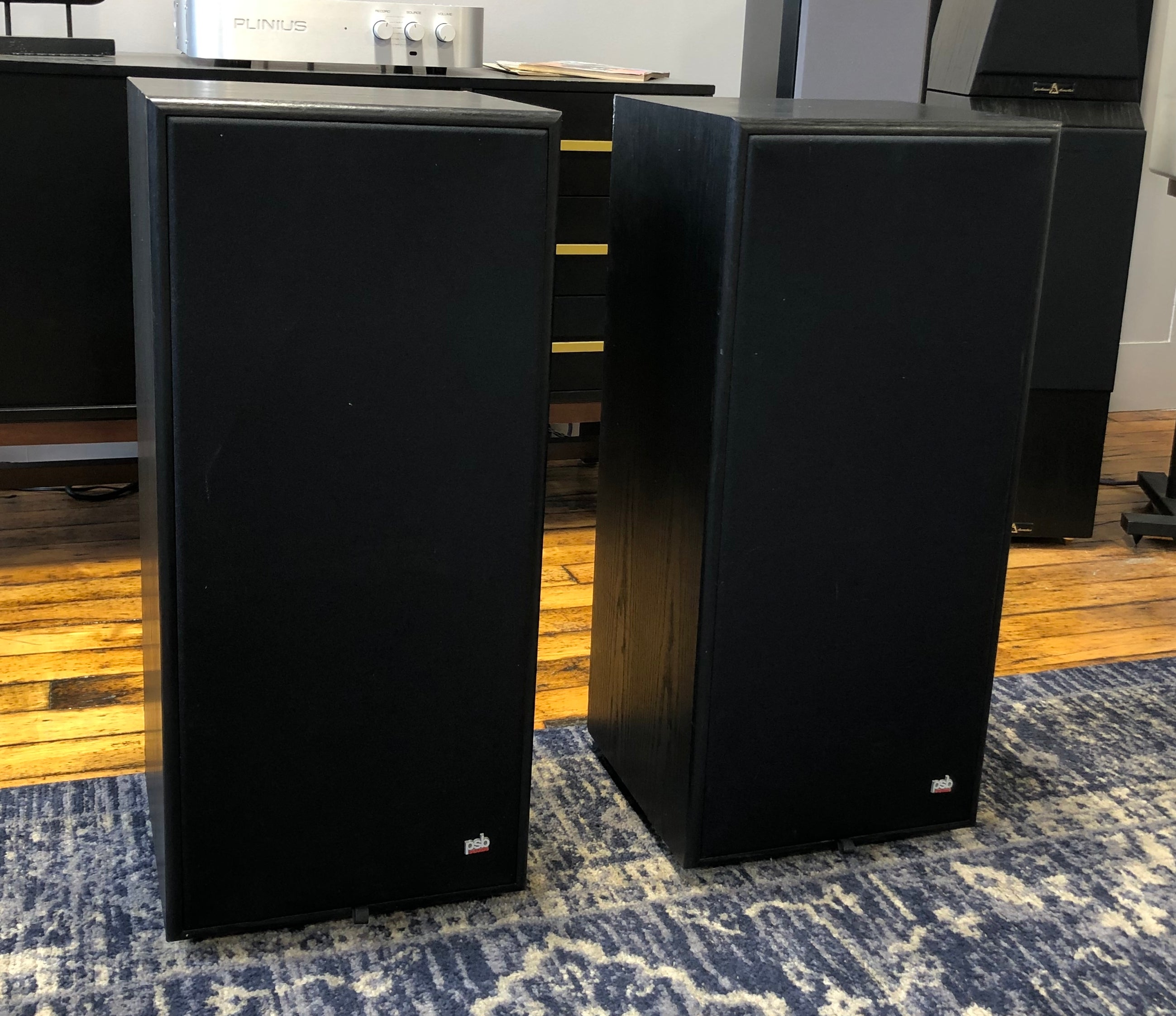 SOLD: PSB 70R Vintage Loudspeakers, Top of the Line 1980s Sound