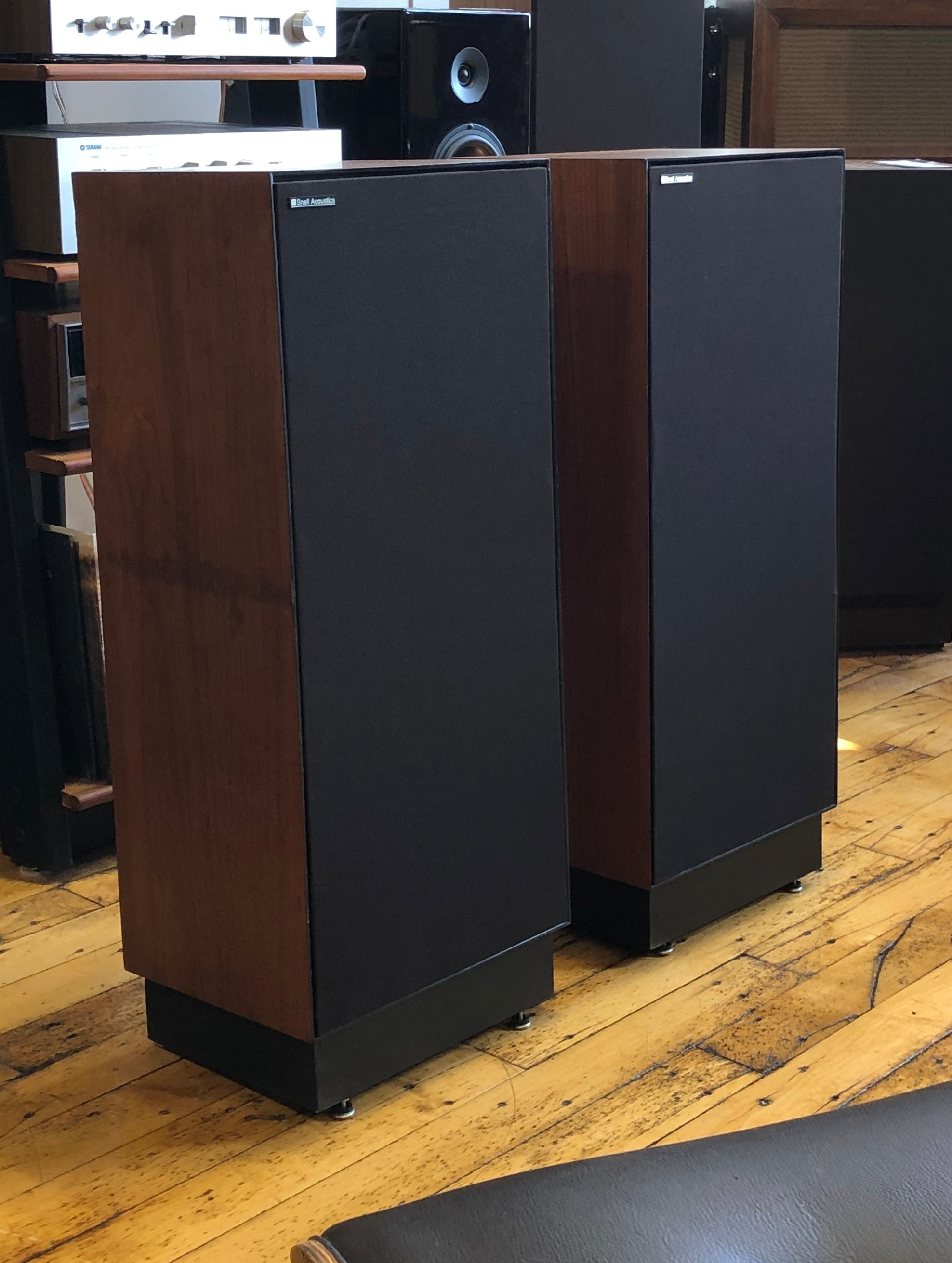 Snell Acoustics E-II Vintage Tower Loudspeakers