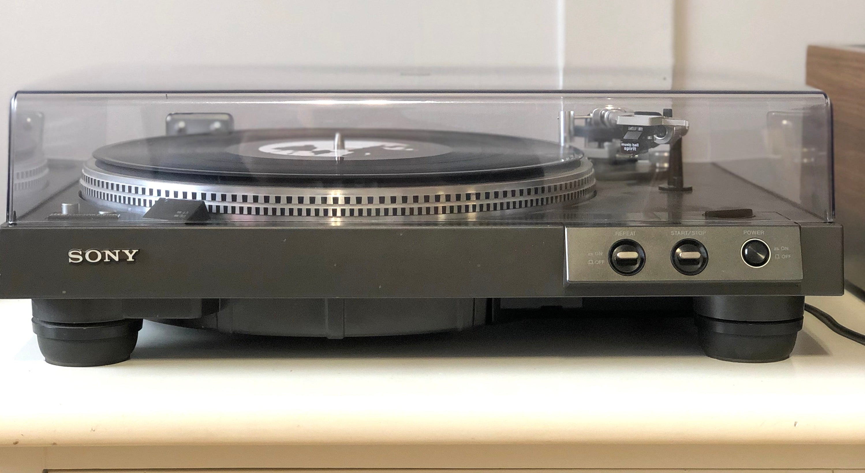 Sony PS-X5 Vintage Turntable with New MusicHall Spirit Cartridge