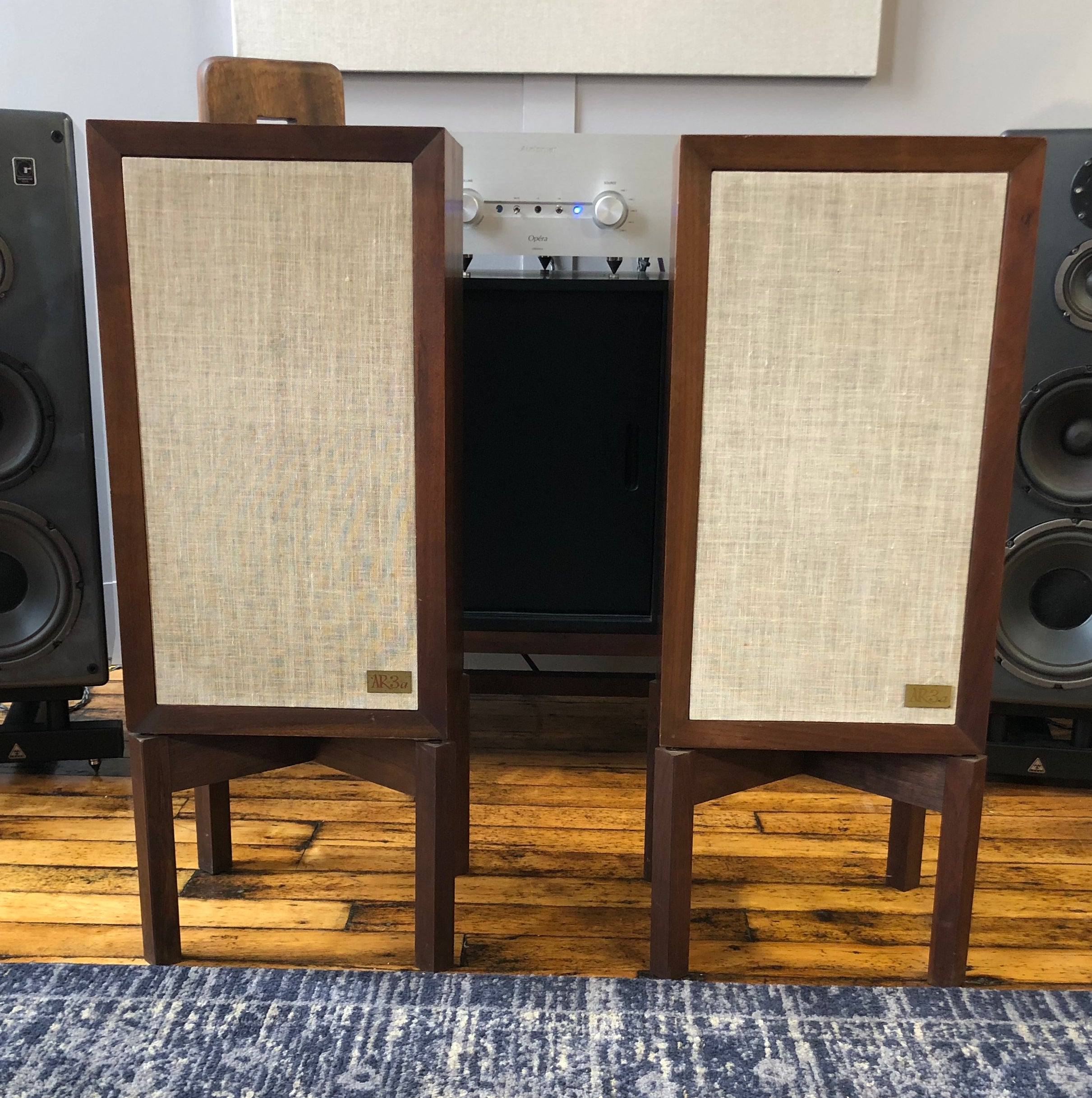SOLD: Acoustic Research AR3a Vintage Loudspeakers, Restored