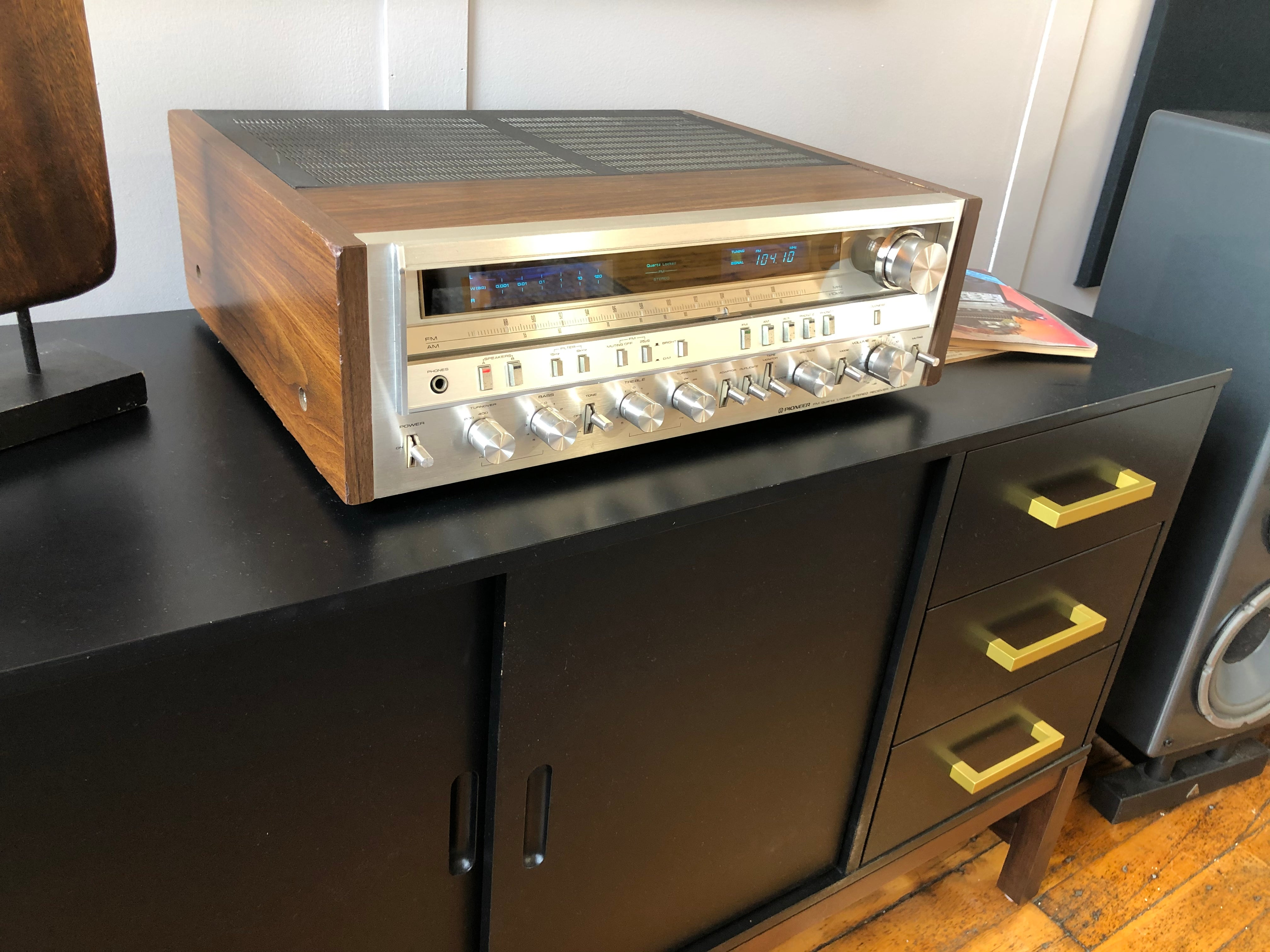 SOLD: Pioneer SX-3900 Monster Receiver!