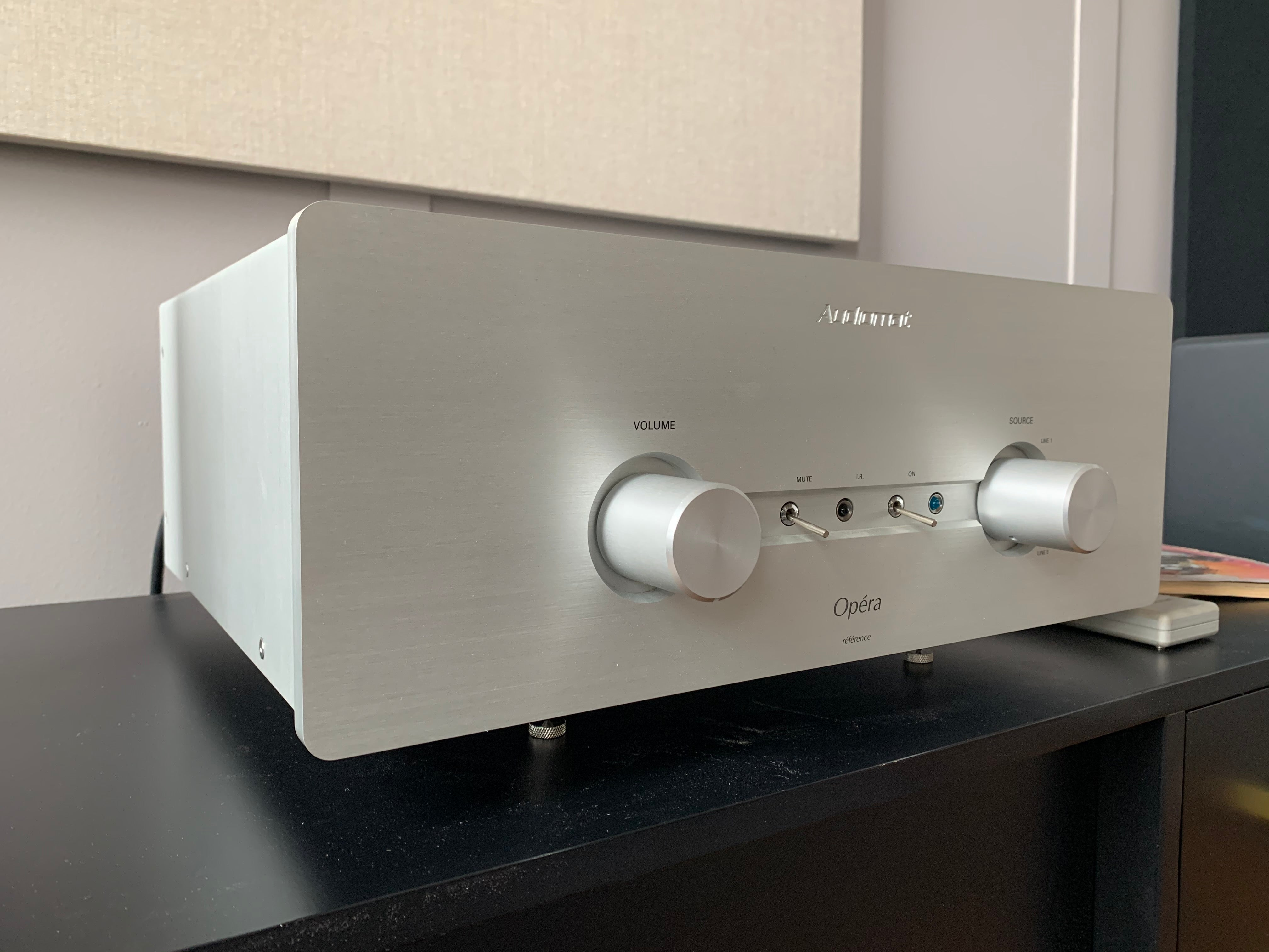 SOLD: Audiomat Ópera Réference Class A Integrated Tube Amplifier, High End!