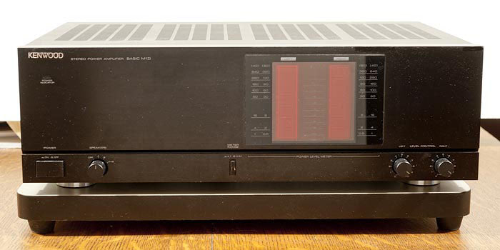 Kenwood M1D Power Amplifier, Serviced