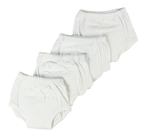 White Training Pants 4-Pack