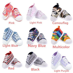 Infants Newborn Boy Girl Anti-Slip Shoes Prewalkers 0-18M