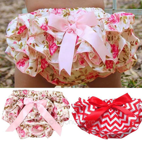 Baby underwear Ruffled Pants Girl Diaper Cover 6m-3y
