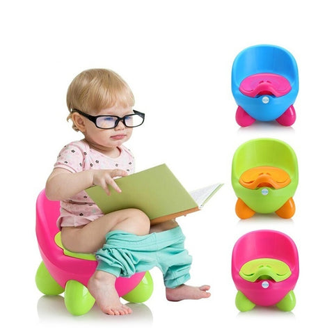 Baby Training Toilet Plastic Non-slip Toilet Seat Foldable Travel Potty