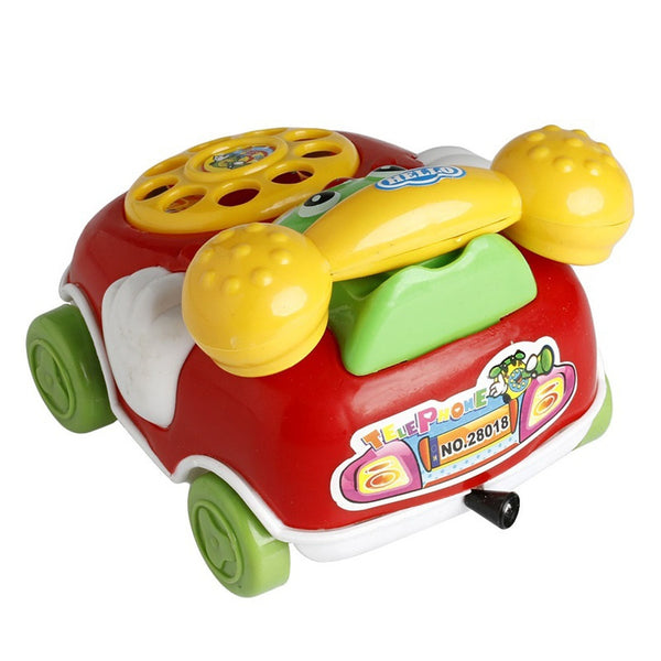 Baby Music Cartoon Phone Educational Developmental Gifts Toy  Random color