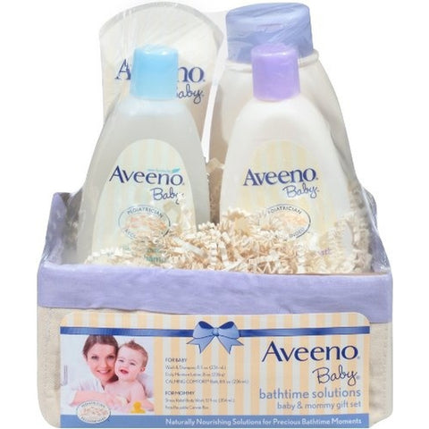 Aveeno Baby Daily Bath Time Solutions Gift Set