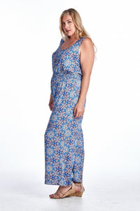 Women's Plus Size Medallion Print Sleeveless