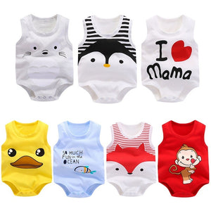 Cotton Newborn  Baby Girl Boy Onezies