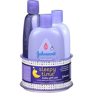 Johnson s Sleepy Time Baby Gift Set, 3 Items
