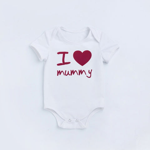 I Love Mummy Baby & Toddler Summer Onezie