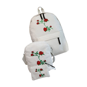 Rose Backpack 3 PCS/SET