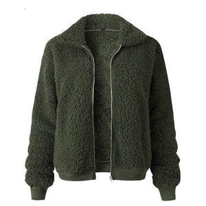 Fleece Teddy Coat