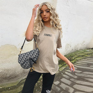 Angel Embroidery Top