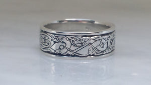 Birds and Dogs in Sterling Silver