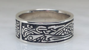 Celtic BIRDS in Sterling Silver