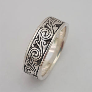 Wind in Sterling Silver