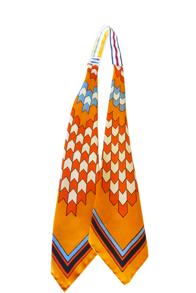 Multi Color Print Scarf