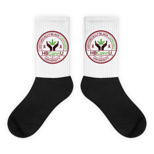 HBCannU Sickle cell Awareness Socks
