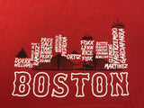 Boston Baseball Skyline Tee Shirt