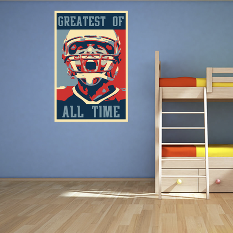 "Greatest Of All Time Poster - 24"" x 36"""