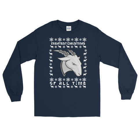 GOAT Ugly Christmas Long Sleeve (Multiple Colors Available)