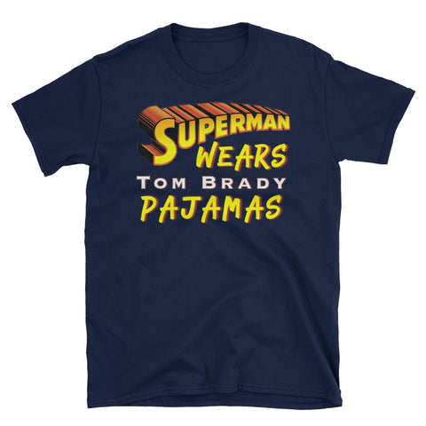 Superman Wears TB Pajamas