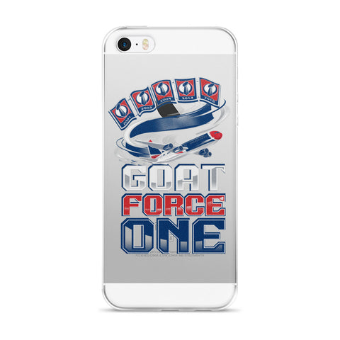 GOAT FORCE ONE iPhone 5/5s/Se, 6/6s, 6/6s Plus Case