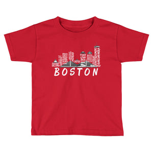 Kids - Boston Baseball Tee Shirt